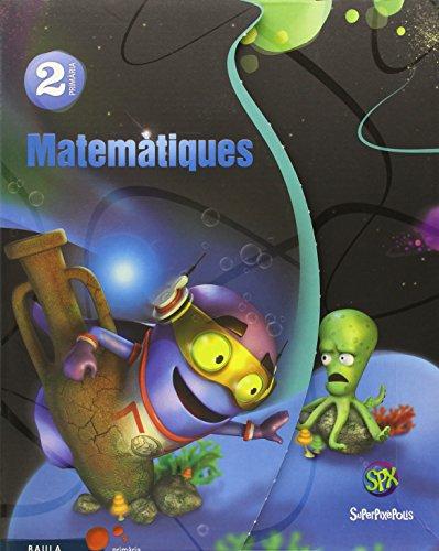Matemàtiques 2n Primària Superpixèpolis Material de l'alumne (Projecte Superpixèpolis) - 9788447929276