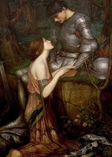 "World of Art Kunstdruck/Poster, Motiv ""Lamia"", Detail, von John William Waterhouse 1905, 250 g/m², glänzend, A3"