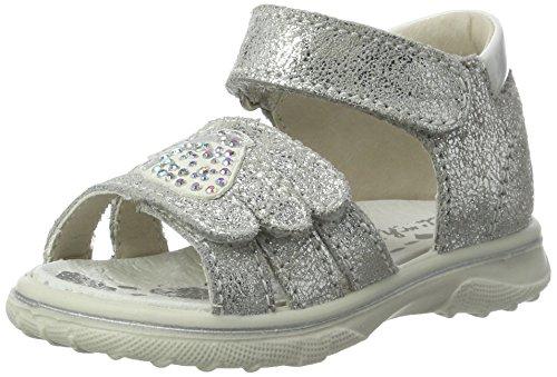 Lurchi Baby Mädchen Tinki Sandalen, Silber (Silver), 24 EU