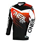 O'Neal Element Racewear Motocross Kinder Jersey Trikot MX Enduro Offroad Motorrad Quad Cross Youth, 0006, Farbe Orange, Größe M