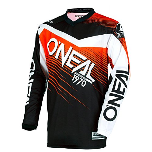 0006-403 - Oneal Element 2018 Racewear Youth Motocross Jersey M Black Orange