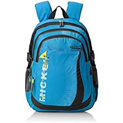 "Mickey Mouse Nylon Children's Backpack (GT 1503 - 17""-BLUE)"