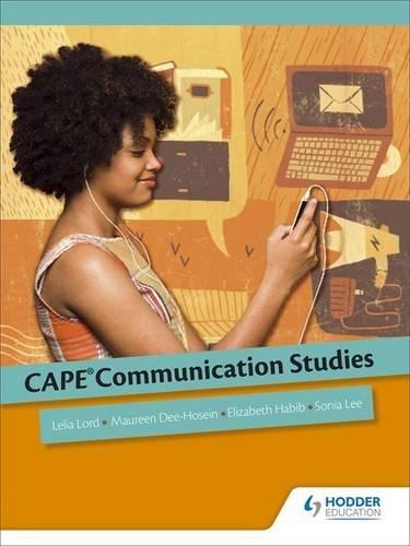CAPE Communication Studies