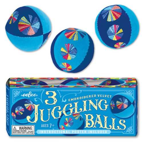 eeboo Juggling Balls Blue