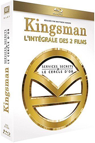 Kingsman : Services Secrets + Kingsman : Le Cercle d'Or [Blu-ray] [Blu-ray + Digital HD] [Blu-ray + Digital HD]
