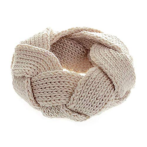 Beito 1pc Winter Woolen Knitted Warm Head Band Creative Design Head Wrap Adorable Warm Hair Accessoires for Woman