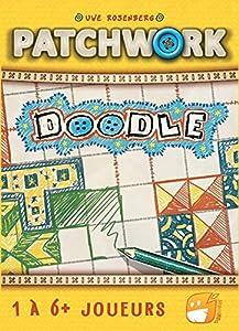 Funforge Patchwork Doodle PTWDDFR01 Amarillo