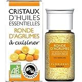 Florisens - Cristaux d'huiles essentielles agrumes bio - 20 g cristaux d'huile essentielle - Les h