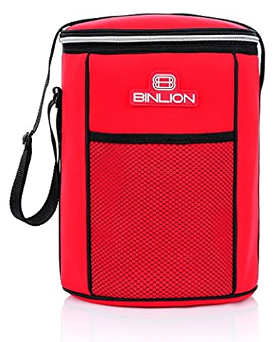 Binlion Insulated Soft Sided Lunched Cooler Bucket,