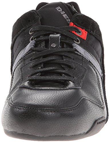 Diesel TRACKKERS KORBIN S Y00936P0120 Herren Sneaker Schwarz (Black T8013)