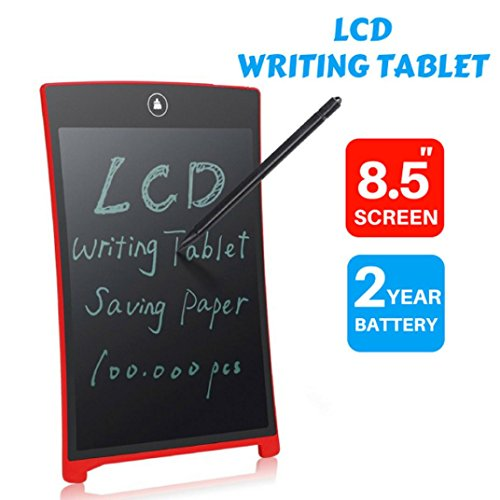 sunnymi Tragbare 8,5 Zoll LCD Message Boards/Tablette Writting Drawing Pad Memo/Mode und Praktisches Design/Qualitätsgeschenk -