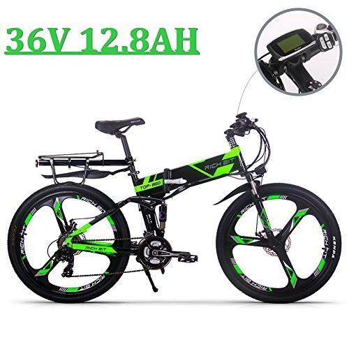 EBike_RICHBIT 860 Hombres Bicicleta eléctrica montaña