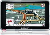 Becker active.5 LMU plus Navigationsgerät (12,7 cm (5 Zoll) Bildschirm, 47 Länder, lebenslange Kartenupdates, TMC, MagClick Aktivhalter, mit Bluetooth)