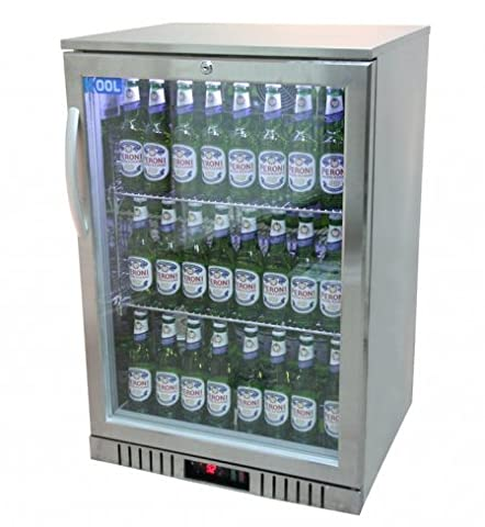 KOOL NRLST2-IC130A Stainless Steel Single Door Bottle Cooler