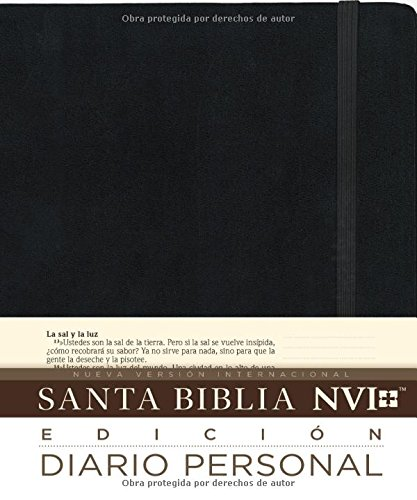 Santa Biblia Nvi Edicion Diario Personal Tapa Dura Spanish Edition