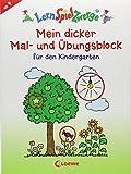 LernSpielZwerge - Mein dicker Mal- und Übungsblock für den Kindergarten (LernSpielZwerge - Sammelblock)