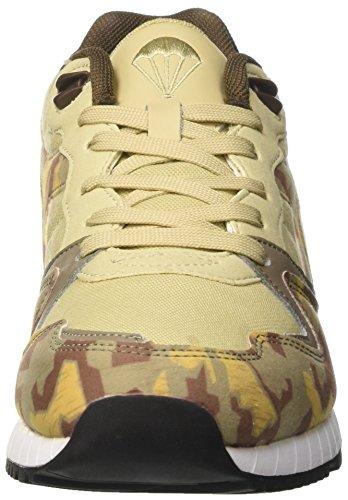 Diadora Unisex-Erwachsene V7000 Camo Sneaker Low Hals, Beige, 43 EU Gelb (Beige Deserto Mojave)
