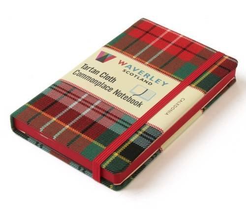 Waverley Scotland Large Tartan Cloth Commonplace Notebook - Caledonia Tartan (Waverley Scotland Tartan Cloth Commonplace Notebooks)