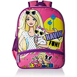 Barbie Pink Children's Backpack (Age group :3-5 yrs)