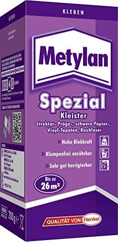 Metylan spezial Kleister mit extra Power (Jetzt mit 10% Leistungsplus durch Henkel-MCX-Technologie)