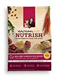 Rachael Ray Nutrish Natural Dry Dog Food, Beef & Brown Rice Recipe, 28 lbs by Rachael Ray Nutrish