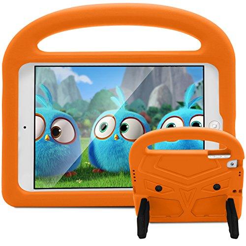 Neue iPad 9,72018/2017Fall-huaup stoßfest Case Light Gewicht Cabrio Griff Freundlicher Ständer Kinder Schutzhülle für Apple iPad 9,7Zoll 2018/2017& 6Gen/5Gen/Air 2/Air/Pro 24,6cm Orange (Couture-pc-gehäuse Juicy)