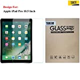 #9: Taslar® Arc Edge Tempered Glass Screen Scratch Guard Protector For Apple iPad Pro 10.5 Inch,(Transparent)