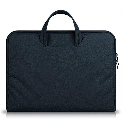 YiJee Sleeve per Laptop Computer Portatile Macbook Air Pro con Display Retina 11.6-15.6 Pollici 14 Inch Nero