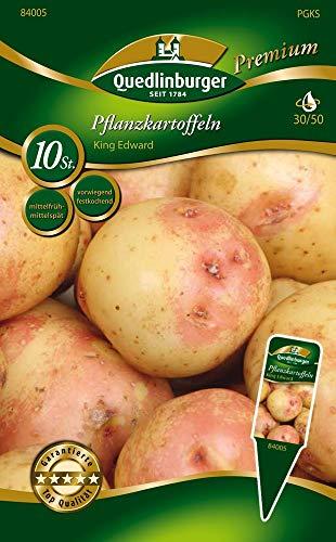 Quedlinburger 84005 Kartoffel King Edward 10 Stück (Pflanzkartoffeln)