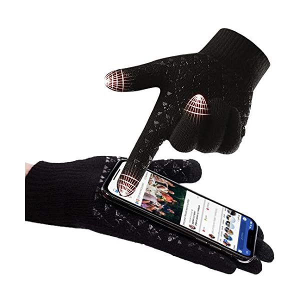 abbigliamento uomo guanti donna invernali touch screen caldi accessori uomo e donna supporto smartphone e tablet idee… 11 spesavip