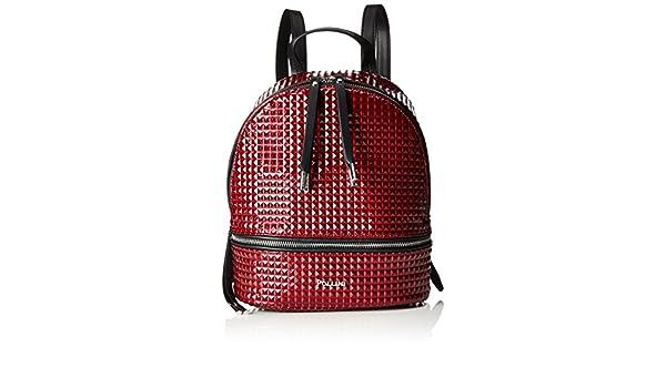 15b4ccf7ed Pollini Bag Women s Backpack Handbag Red (Bordeaux) 23x11x28 cm (B x H x  T)  Amazon.co.uk  Shoes   Bags