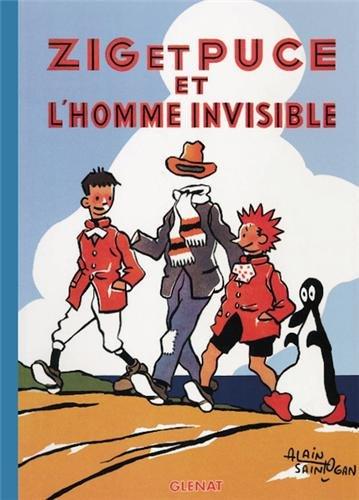 Zig et Puce, tome 13 : Zig et Puce et l'homme invisible