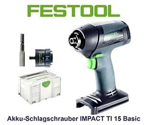 Festool Perceuse-visseuse Impact Festool Ti 15 Li 3,0 Basic