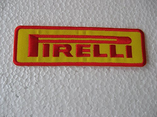 pirelli-tires-shirt-jacket-patch-embroidered-sew-iron-on-logo-yellow-colour