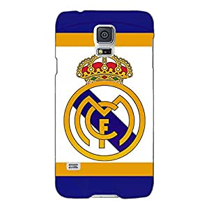 Jugaaduu Real Madrid Back Cover Case For Samsung Galaxy S5