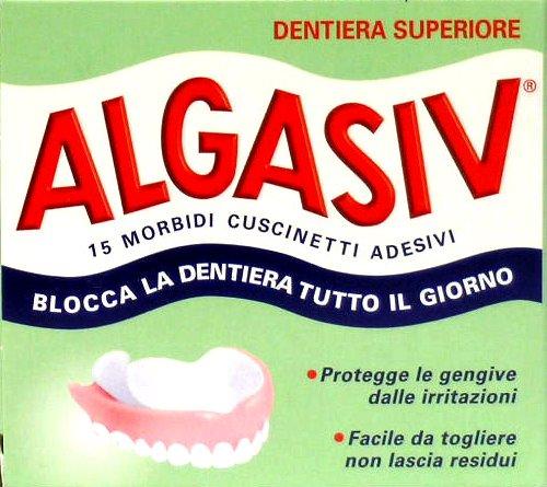 ALGASIV Cuscinetti Adesivi Superiori 15 Pezzi