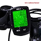 Best Wireless Bike Computers - Bicycle Speedometer Wireless Cycling Computer with Cadence Sensor Review