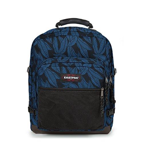 Eastpak Ultimate Sac à dos, 42 cm, 42 L, Bleu (Leaves Blue)