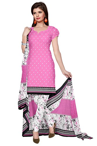 DnVeens Women Chudidar Printed Unstiched Suit Dress Material