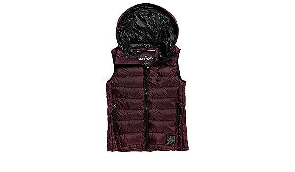 9b63db79c0bf Superdry Core Luxe Doudoune SM Femme Violet Taille XL  Amazon.fr  Vêtements  et accessoires