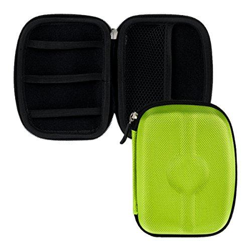 kwmobile Hardcase Nylon Tasche Hülle für Externe Festplatten (2,5