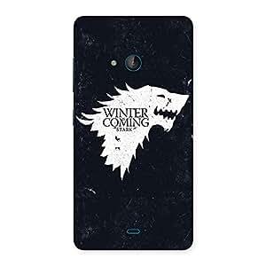 Winter Comes Back Case Cover for Lumia 540
