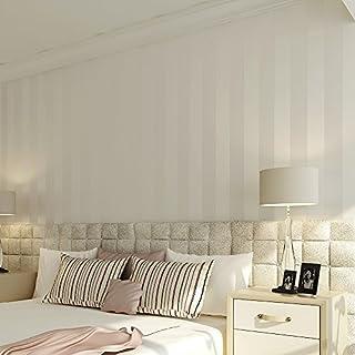 Lzhenjiang Wandbilder Nicht Selbstklebende Farbe Einfach Und Vlies Tapete  Modern Gestreifte Tapeten Und Gemütlichen Höhle Schlafzimmer