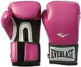 Everlast Pro Style Elite - Guantes de boxeo para entrenamiento, color rosa, talla 8 oz