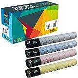 Do it Wiser ® 4 Kompatibel Toner Konica Minolta BizHub C224 C224e C284 C284e C364 C364e | TN321K A33K150 TN321C A33K450