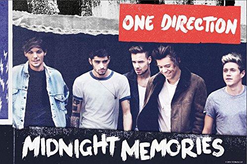empireposter - One Direction - Midnight Memories 2 - Größe (cm), ca. 91,5x61 - Poster, NEU - (Poster Direction All One Up Night)