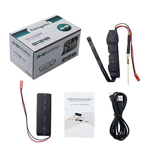 Caméra Espion WIFI TANGMI 1920x1080P HD Mini Caméra Cachée Sans Fil ... f016b29b33b9