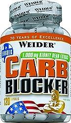Weider, Carb Blocker, 1er Pack (1x 120 Kapseln)