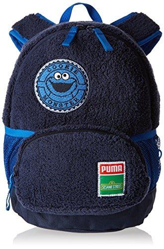 Puma Sesame Street S, Mochila para niño, Azul (Bleu (Peacoat/Cookie Monster)), talla única