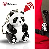Personal Attack Alarm Key Ring - Kids Attack Safety Alarm Keyring Siren With Torch for Children or Adults - Recommended by UK Police